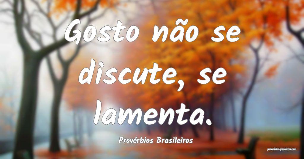Provérbios Brasileiros